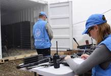 UN Mission Colombia attacked