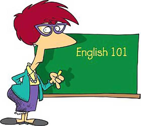 English word order