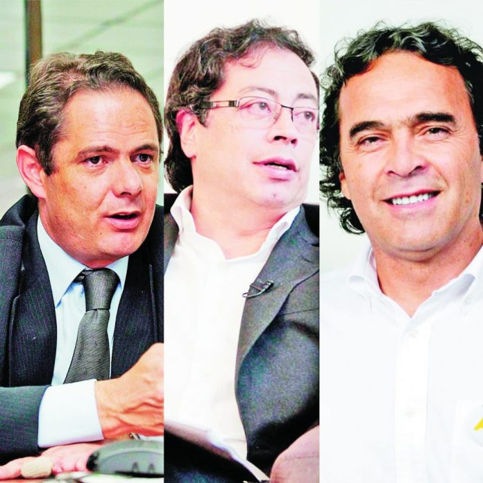 presidential candidates Colombia