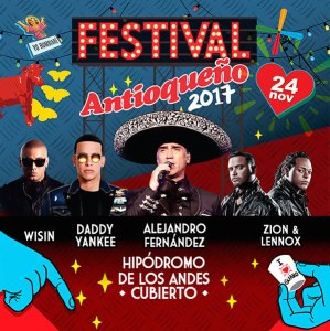 El Festival Antioqueño in Cundinamarca @ Hipódromo de los Andes    Cundinamarca   Colombia