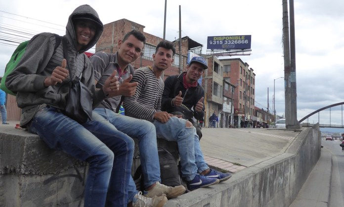 caminantes, Venezuelan