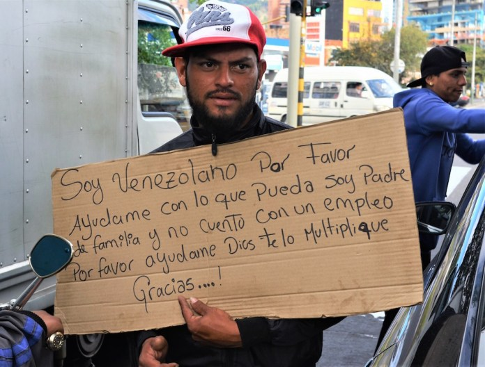 Venezuelans in Colombia, Venezuela