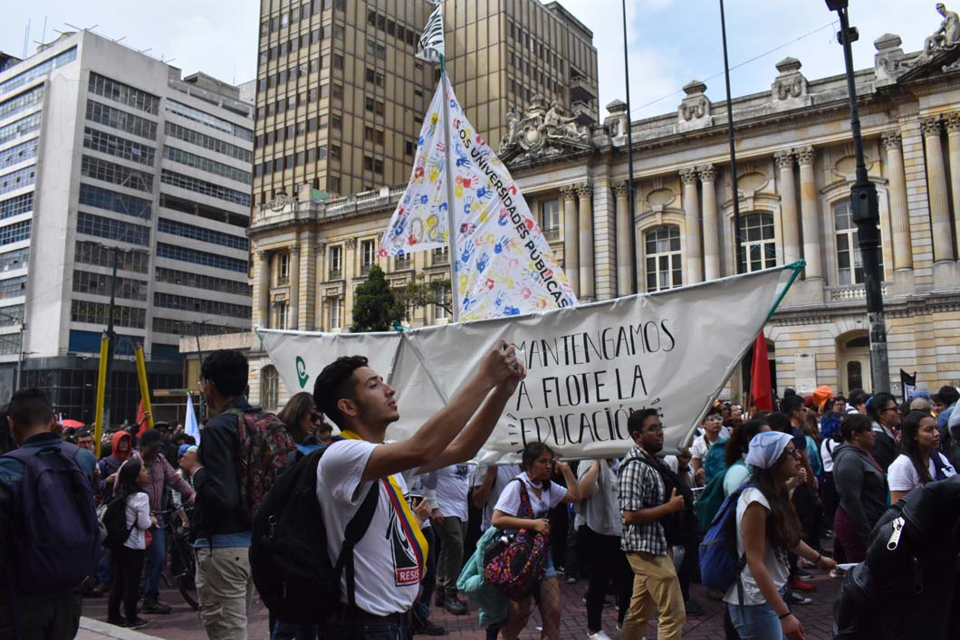 Student protests against government education policies remain on the ropes