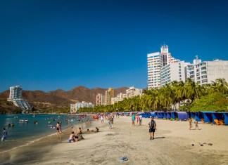 Rodadero beach Santa Marta