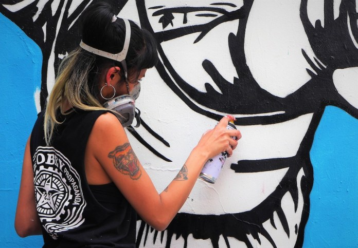 Street art Bogotá