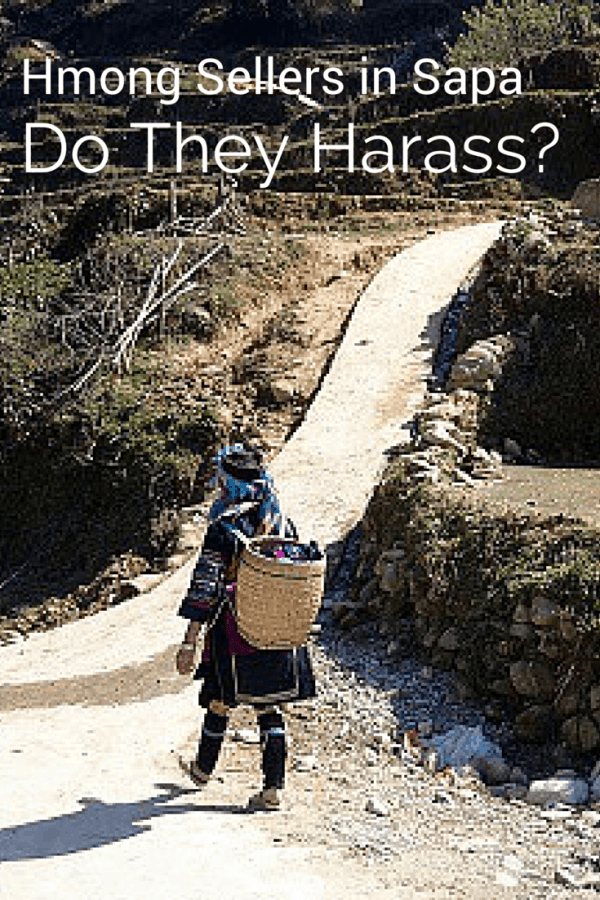 Hmong sellers in Sapa: Do they really harass?