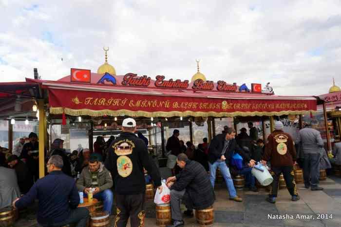 Balik Ekmek food stall