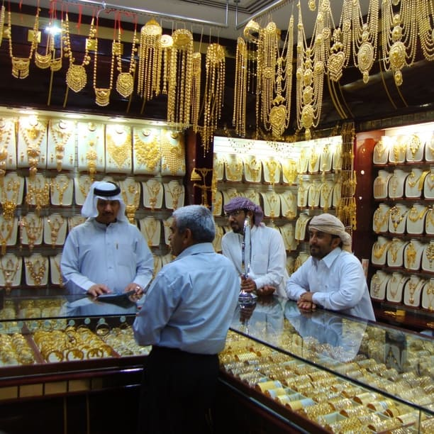 Dubai Gold Souk Photo by Kostas Brejaart via Trover.com