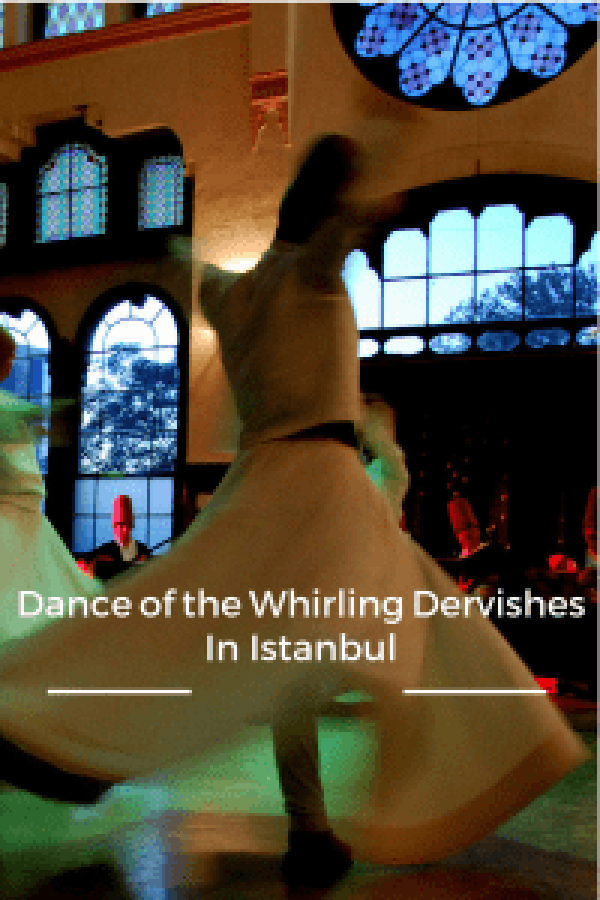 Dance of the Whirling Dervishes in Istanbul