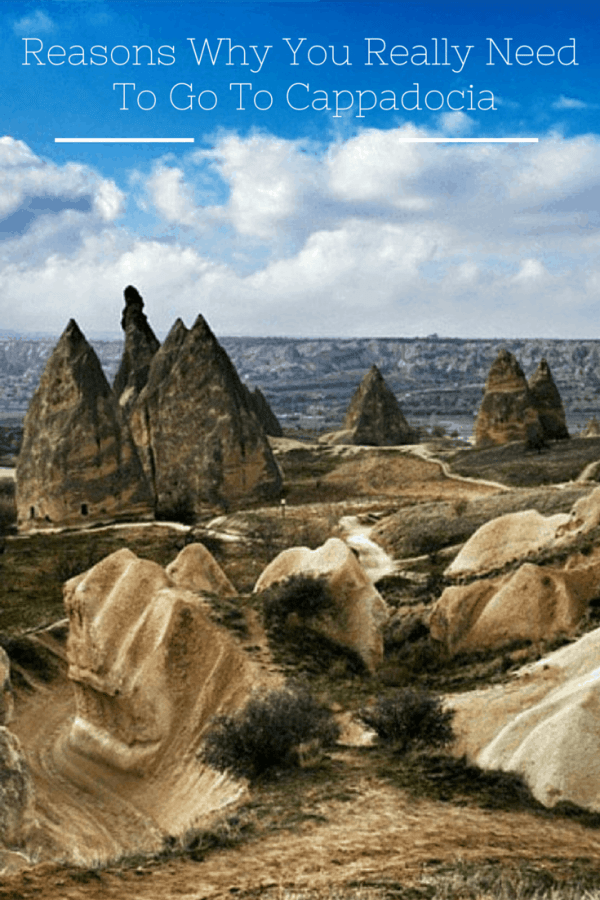 Why You Really Need to go to Cappadocia