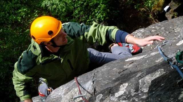 Luke on Ironside's Men, Shorn Cliff- Outdoor Adventures in England