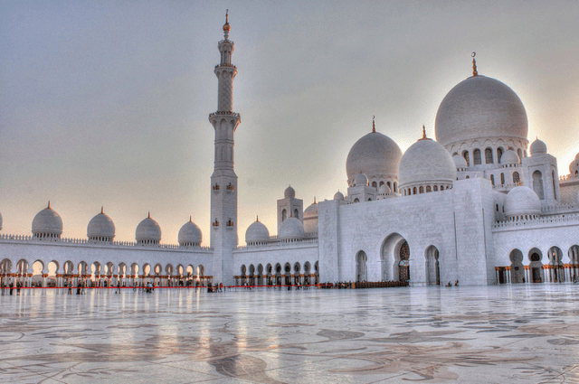 The Grand Mosque, Abu Dhabi- Holy Month of Ramadan in Dubai