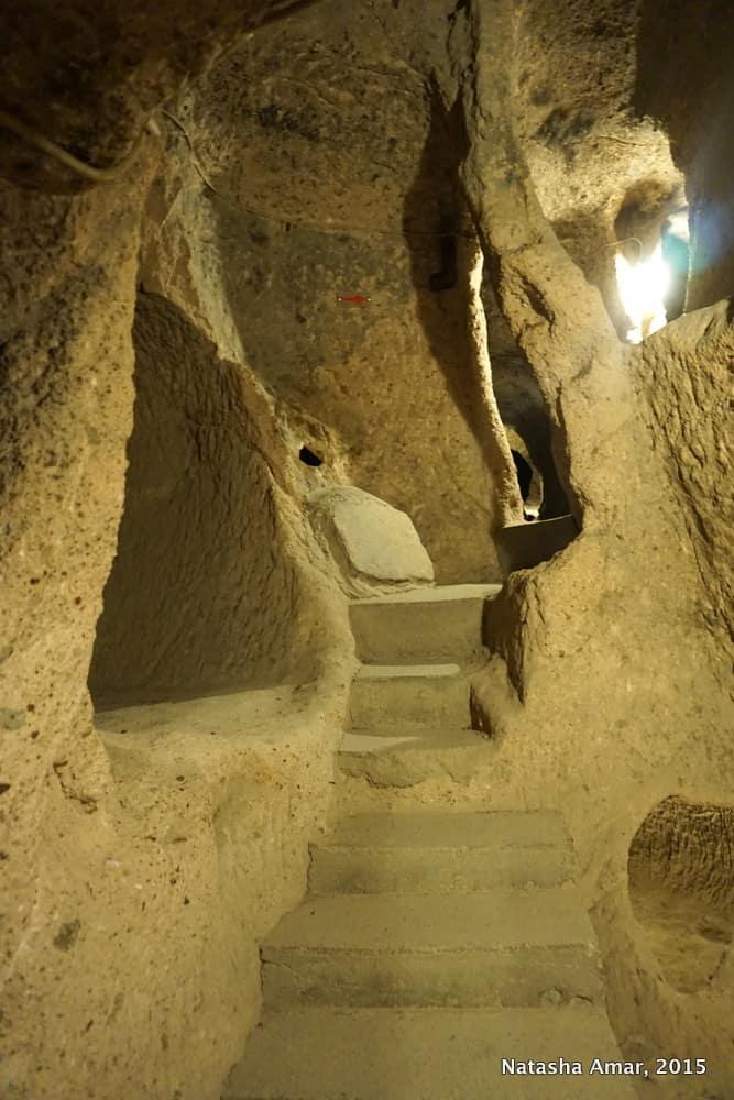 underground city of Kaymakli in Cappadocia