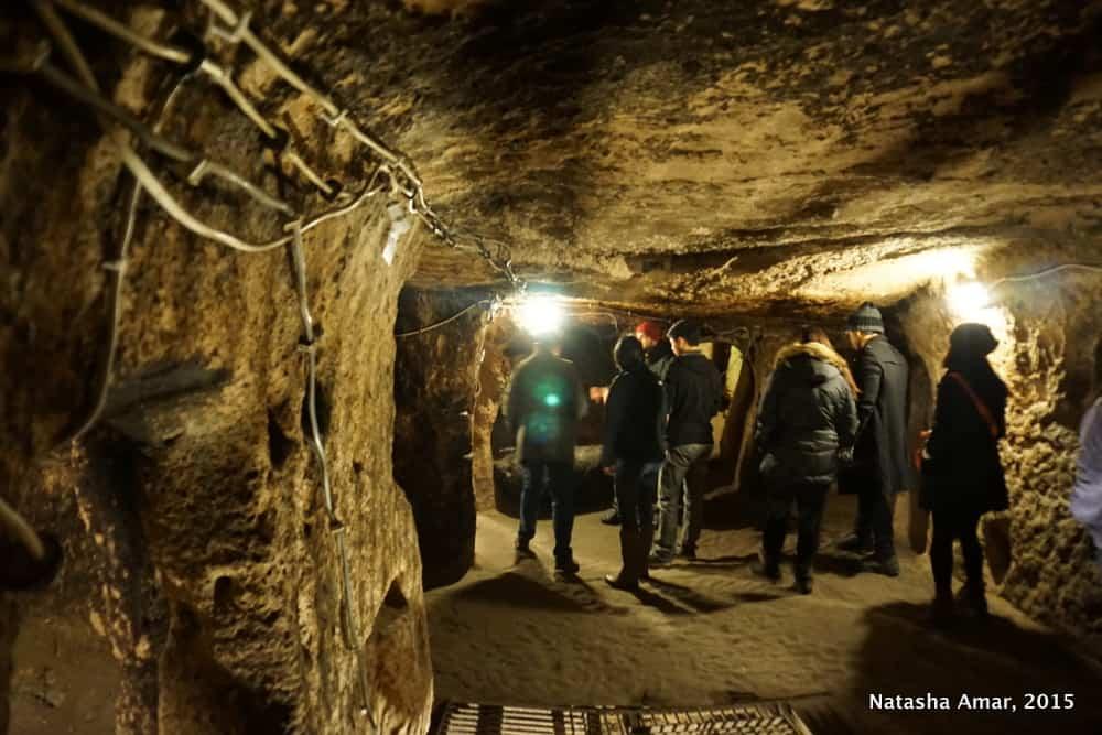 Kaymakli underground city Cappadocia
