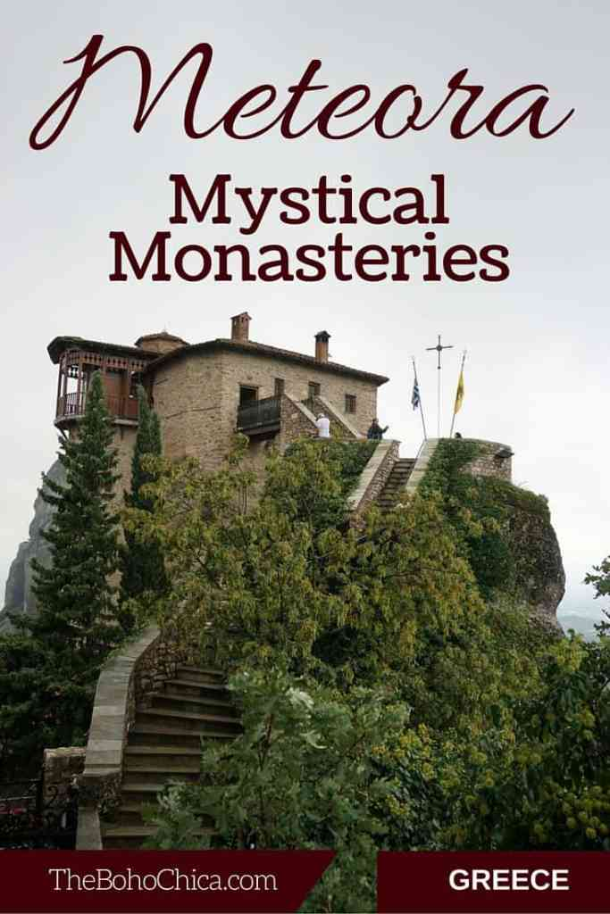 The Mystical Monasteries of Meteora