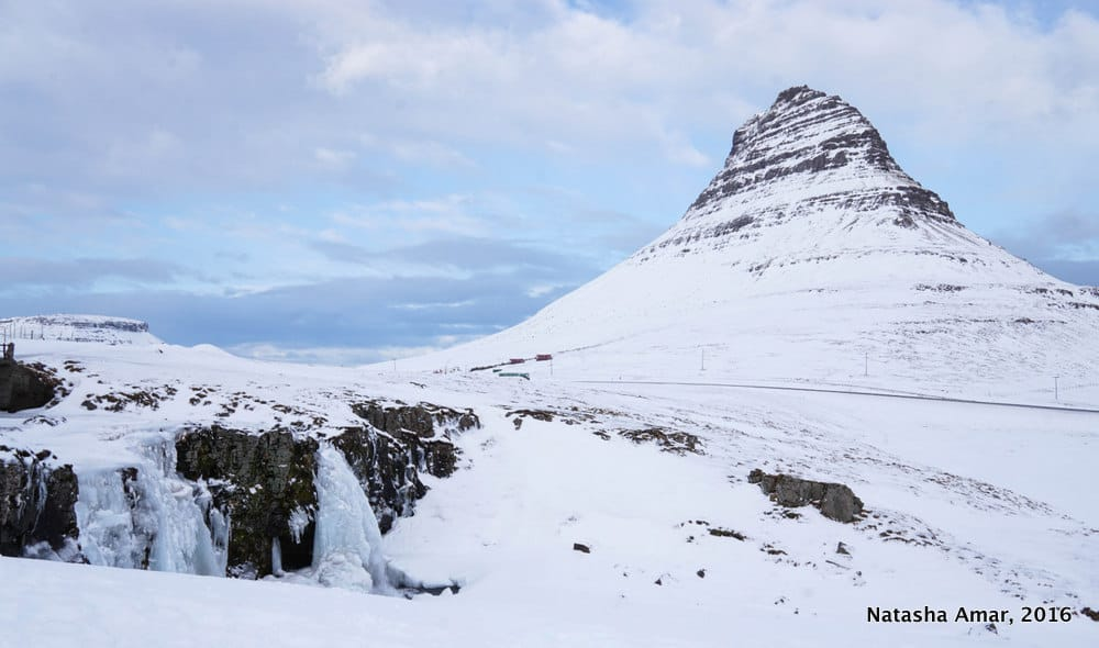 Kirkjufell in winter- Snaefellsnes Peninsula