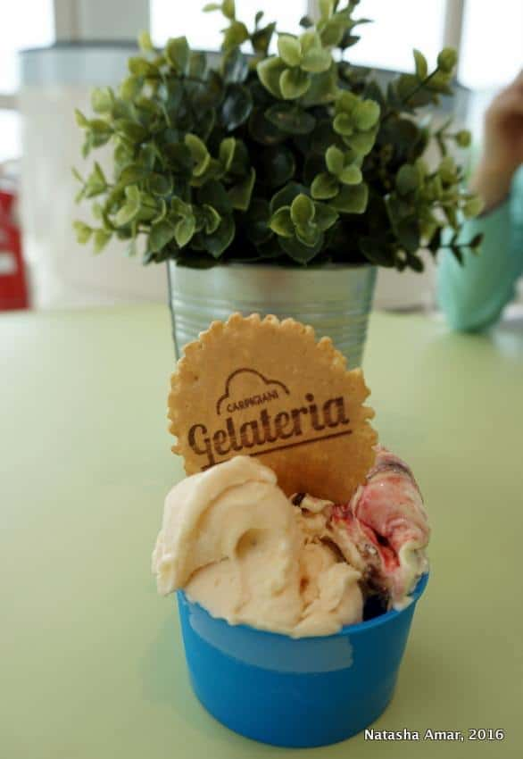 The world's only gelato university at the Carpigiani Gelato University Italy