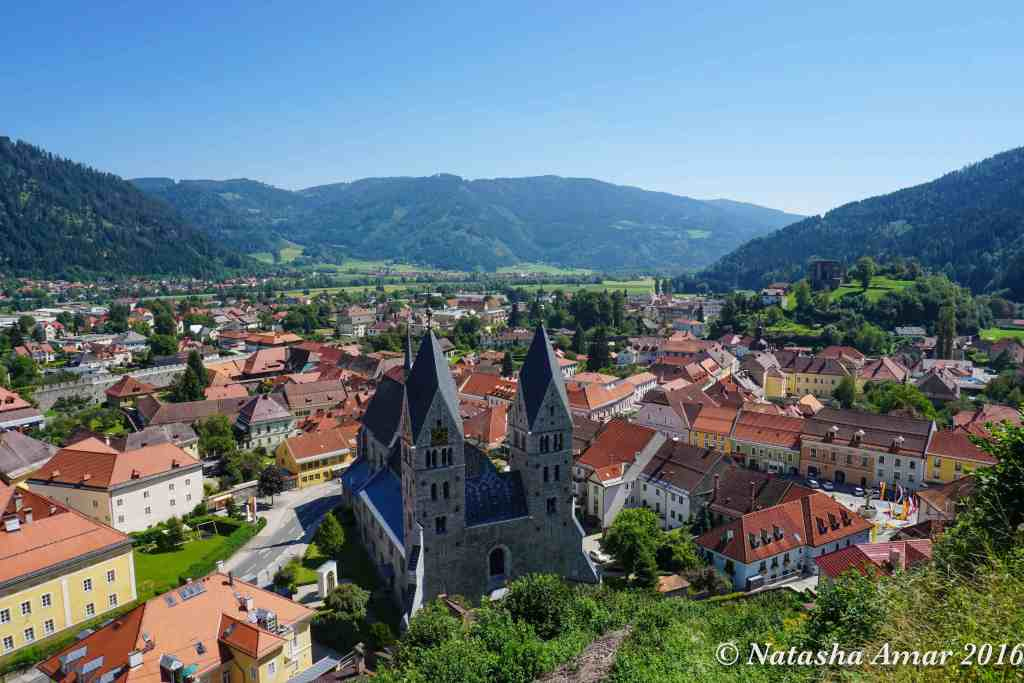 Friesach -Transromanica Cultural Route of the Council of Europe