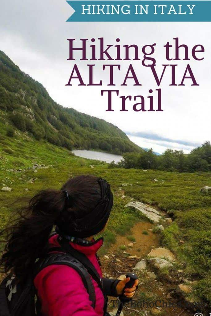HIKING THE ALTA VIA TRAIL IN ITALY
