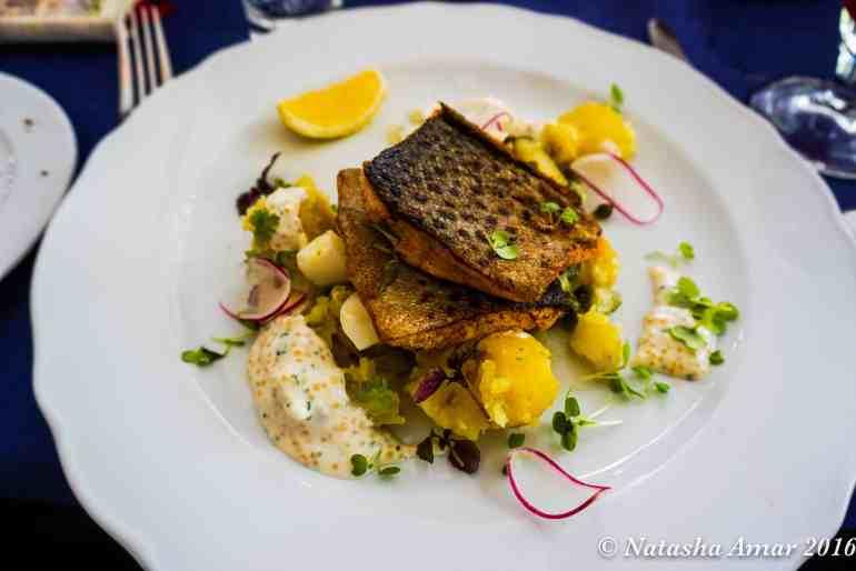 lunch at Utö Stockholm Archipelago