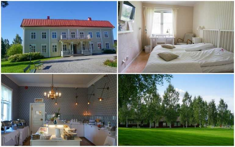 Skelleftea in Swedish Lapland: Stay at Stiftsgarden