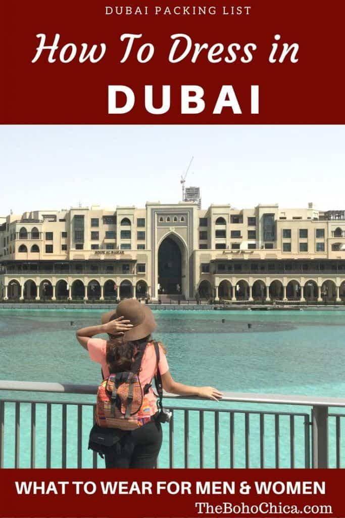2f288c512ac What To Wear in Dubai: The Only Dubai Packing List You'll Need