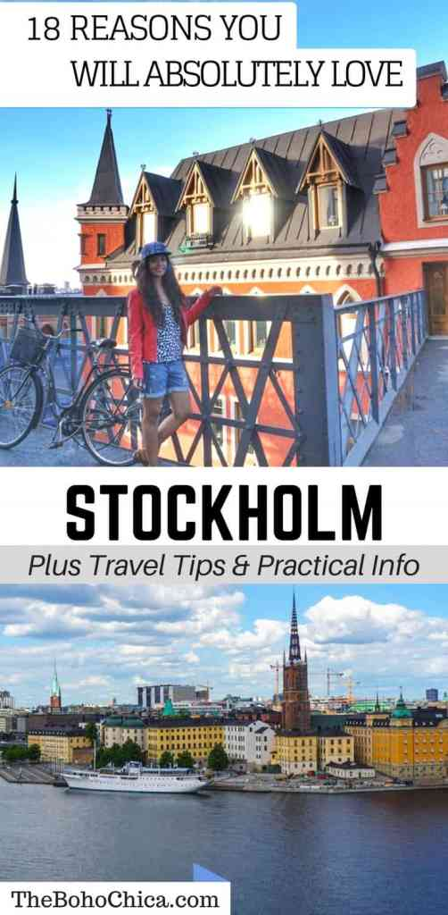 Visit Stockholm: Reasons Why You'll Love Stockholm plus Things To Do and Attractions in Stockholm. I loved Stockholm and didn't grow tired of it, even after staying there for a month, and I'm not even a city person. Here's why I loved Stockholm and why you will too.