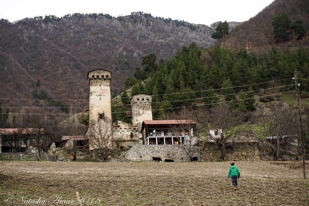 Mestia, Svaneti Georgia