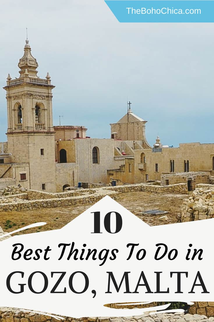 Visiting Gozo: From snorkeling in the Blue Lagoon and visiting prehistoric megalithic temples and UNESCO Sites to staying in a farmhouse and wine tasting, here are the best things to do in Gozo, Malta.