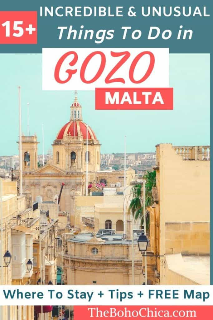 Visiting Gozo: From snorkeling in the Blue Lagoon and visiting prehistoric megalithic temples and UNESCO Sites to staying in a farmhouse and wine tasting, here are the best things to do in #Gozo, #Malta.
