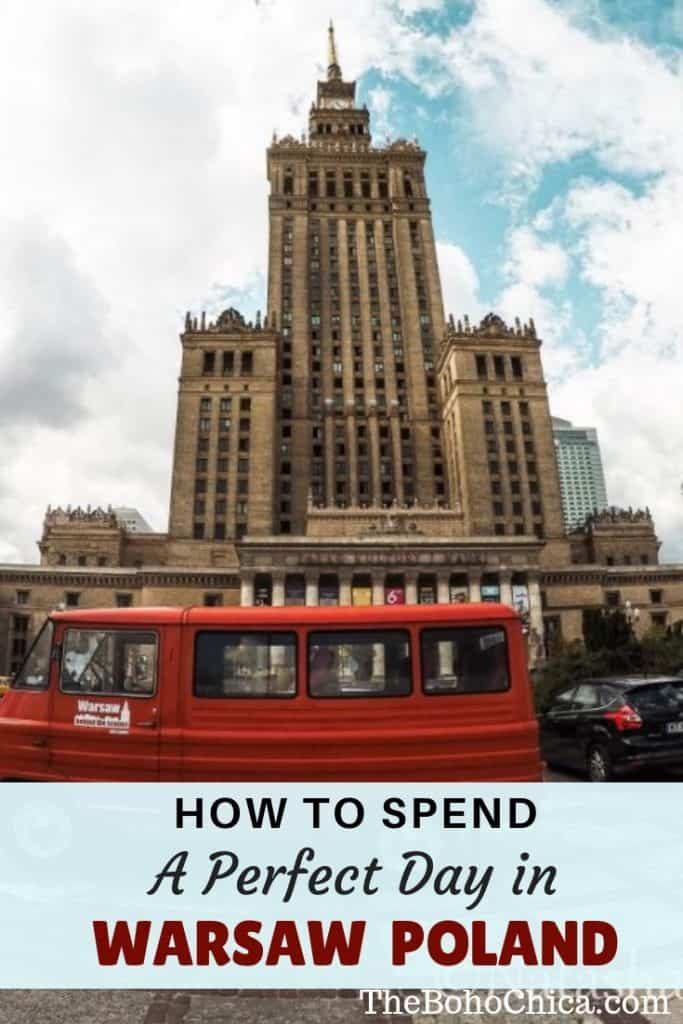 Wondering what to see in #Warsaw? Learn about world history and see how Poland's capital has rebuilt itself with this perfect one day itinerary for Warsaw. #Warsaw travel