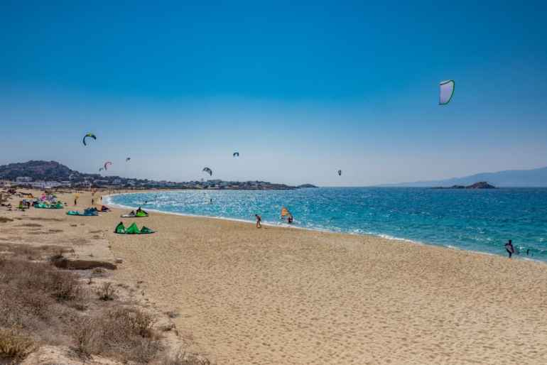 Orkos Beach Enjoy a slice of island paradise on the best Naxos beaches in the popular Cyclades islands in Greece. From sandy beaches with crystal waters and secret coves for privacy, these are the best beaches in Naxos.