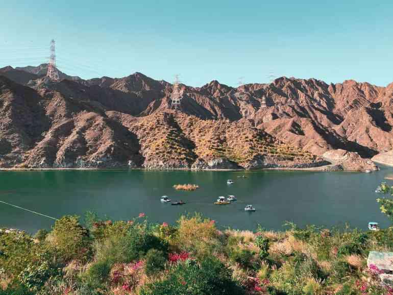 Al Rafisah Dam kayaks