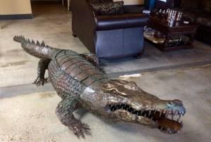 Crocodile at Potter's Tea House for Meridian Art Week
