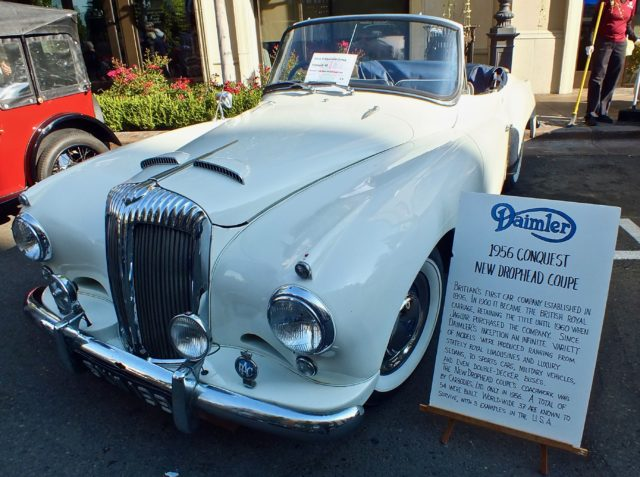Daimler Conquest 1956 British