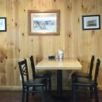 Dining room at the Mann Creek Country Store and Cafe.