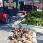 It's all about the wood for BBQ---and the Idaho Vandals!