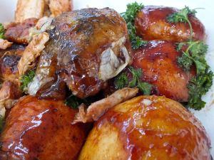 Chicken fior BBQ judges