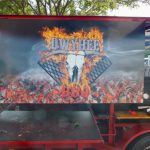 Owyhee's colorful trailer for BBQ