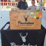 Powderhaus Brewing was pouring beer