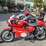 Triumph Motorcycles at meet