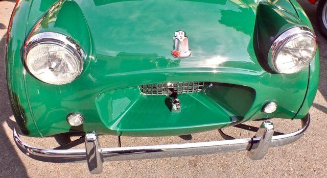 Triumph TR2 front end view