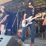 The Voltz playing at BBQ Festival