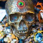 Creative skull art