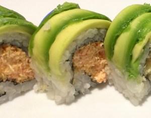 Linda Roll at Fujiyama Japanese Sushi House closeup