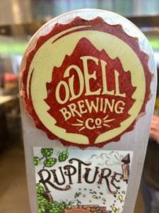 O'Dells Rupture Beer on Tap