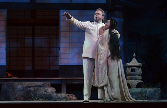Opera Idaho's Madama Butterfly stars Vanessa Isiguen as Madama Butterfly