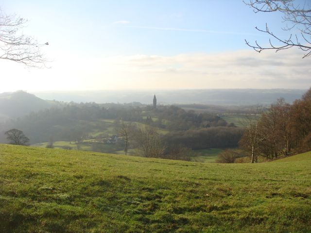 View from near the trig point