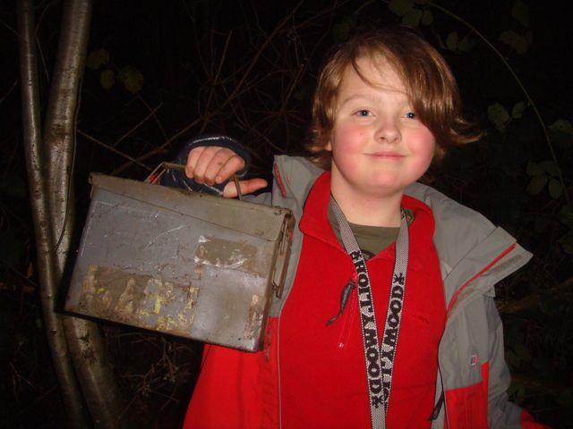 Isaac with the bonus cache