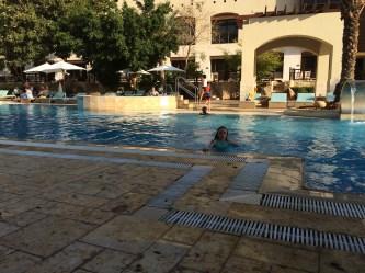 ah, the long awaited pool!
